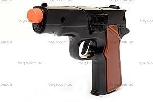 Детский пистолет, для пуль-пистонов, 2071P