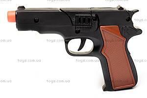 Детский пистолет, для пуль-пистонов, 2071P, фото