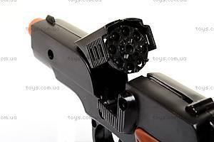 Детский пистолет, для пуль-пистонов, 2071P, цена