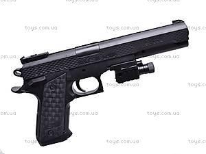 Детский пистолет на пулях с прицелом, P398, купить