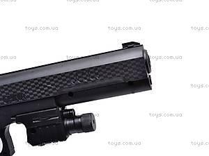 Детский пистолет на пулях с прицелом, P398, фото