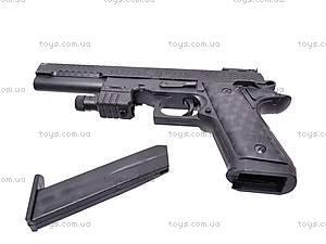 Детский пистолет на пулях с прицелом, P398, отзывы