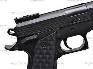 Детский пистолет на пулях с прицелом, P398, цена