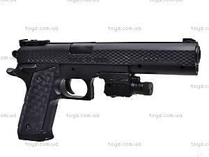 Детский пистолет на пулях с прицелом, P398