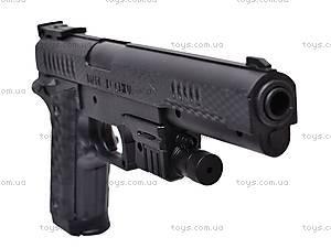 Детский пистолет на пулях с прицелом, P398, игрушки