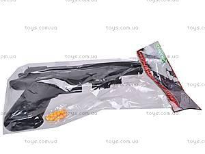 Детский пистолет на пулях с прицелом, P398, детские игрушки