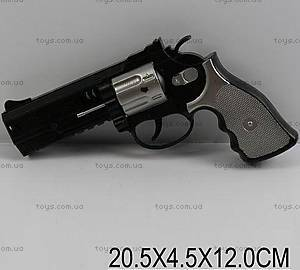Детский пистолет, с барабаном, 1021-1