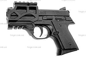 Детский пистолет, с лазером и пульками, CZ2075, отзывы