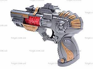 Детский пистолет с музыкой, TK611-1, фото