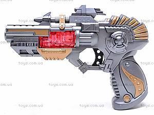 Детский пистолет с музыкой, TK611-1