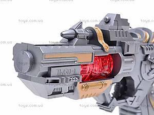 Детский пистолет с музыкой, TK611-1, цена