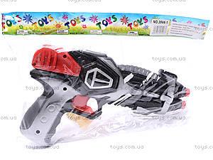 Детский пистолет, с присосками, 3843/3844-1, купить