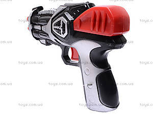 Детский пистолет, с присосками, 3843/3844-1, фото