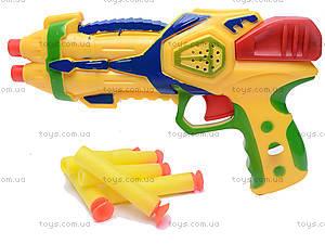 Детский пистолет, с присосками, 3843/3844-1, отзывы
