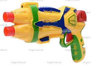 Детский пистолет, с присосками, 3843/3844-1, цена