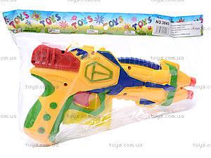 Детский пистолет, с присосками, 3843/3844-1, игрушки