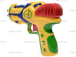 Детский пистолет, с присосками, 3843/3844-1, детские игрушки