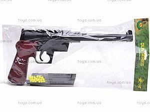 Детский пистолет с пульками, 399, фото