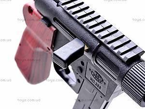 Детский пистолет с пульками, 399, игрушки