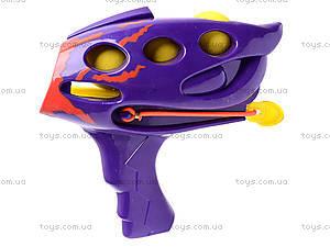 Детский пистолет, с шариками, 0007-1, фото