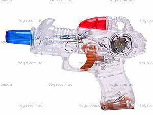 Детский пистолет со звуковыми эффектами, 1086