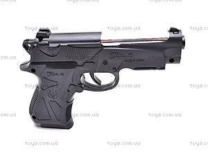 Детский пистолетик с пульками, 738A, фото