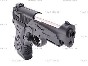 Детский пистолетик с пульками, 738A, отзывы