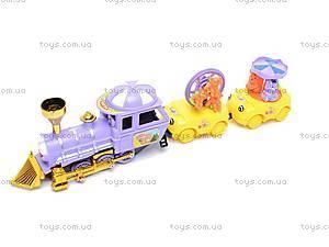 Детский поезд с вагончиками, YY-038
