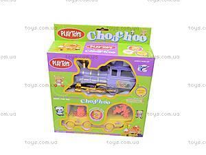 Детский поезд с вагончиками, YY-038, отзывы