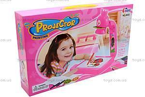 Детский проектор, с тремя слайдами, 8832, купить
