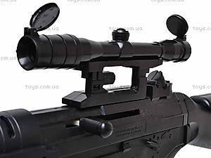 Детский пулемет с пульками, JP922 (79853), игрушки