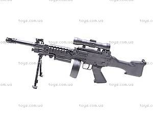 Детский пулемет с пулями, M601-2, фото