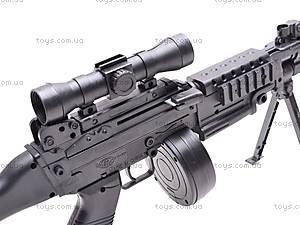 Детский пулемет с пулями, M601-2, игрушки