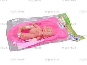 Детский пупс с ванной, S8008-76, цена