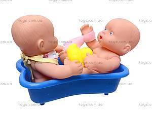 Детский пупс в ванне, 0811-60, купить