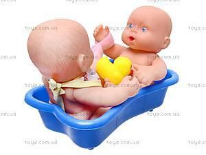 Детский пупс в ванне, 0811-60, фото