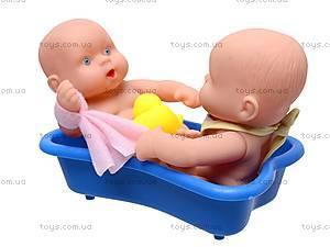 Детский пупс в ванне, 0811-60, игрушки