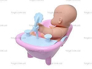 Детский пупс в ванночке, 2866, купить