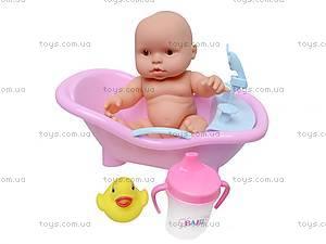 Детский пупс в ванночке, 2866, фото