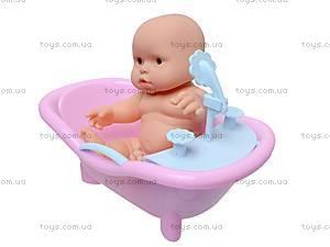Детский пупс в ванночке, 2866, отзывы