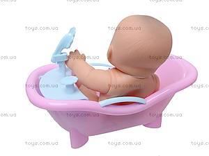 Детский пупс в ванночке, 2866, цена