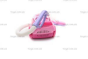 Детский пылесос, розовый, 2006В, фото