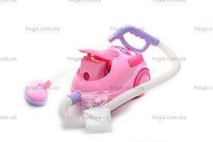 Детский пылесос, розовый, 2006В