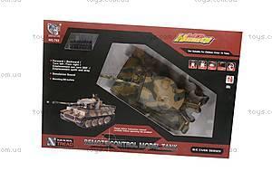 Детский радиоуправляемый танк, 782, игрушки