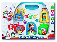 Детский развивающий музыкальный столик, K32703
