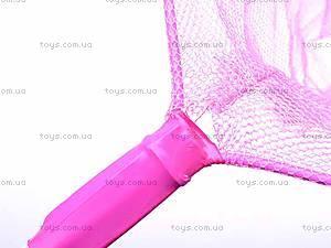 Детский розовый сачок, W02-3481, цена