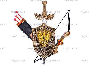 Детский рыцарский набор с луком и стрелами, 6915