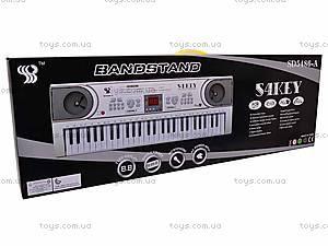 Детский синтезатор, 54 клавиши, SD5486-A, купить