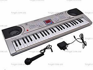 Детский синтезатор, 54 клавиши, SD5486-A, отзывы