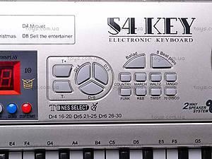 Детский синтезатор, 54 клавиши, SD5486-A, детские игрушки